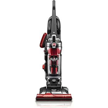 Hoover WindTunnel 3 High Performance Pet Bagless Corded Upright Vacuum Cleaner, UH72630, Red
