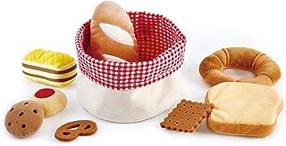سلة خبز الأطفال من هاب | مجموعة ألعاب طعام ناعمة للأطفال، سلة ألعاب الخبز تتضمن الخبز المحمص، كوكي المربى، الكيك، بسكويت ا...