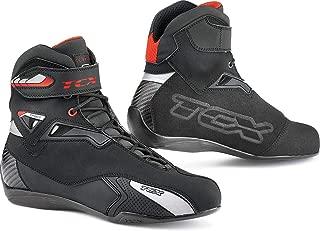 TCX Rush Waterproof Men's Street Motorcycle Shoes - Black / 44