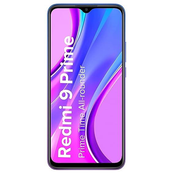 Redmi 9 Prime (Matte Black, 4GB RAM, 128GB Storage) - Full HD+ Display & AI Quad Camera