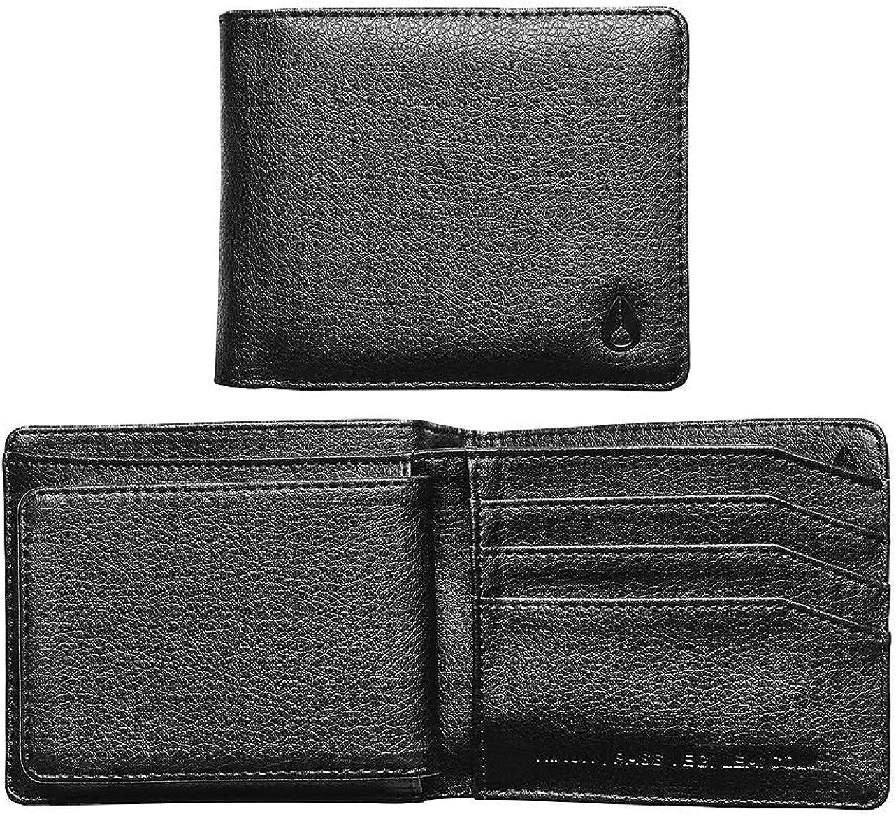 Nixon Pass Vegan Leather Coin Mens Wallet