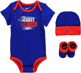 a62a81569 Nike Age 6-12 Months 3 Piece Infant Set Baby Set Hat Beanie Bootie Shoes