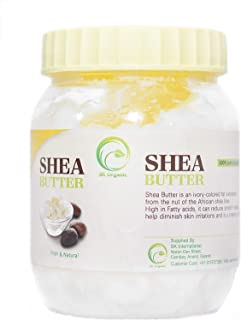 SK ORGANIC Raw Unrefined Shea Butter - 250 gm (8.8 Oz)