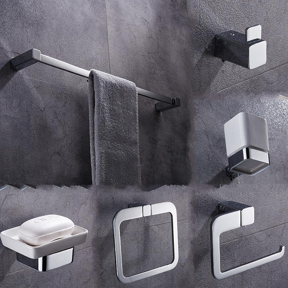 Solid Directly managed store Brass Bathroom Accessories Hardware Chrome specialty shop Pl Set