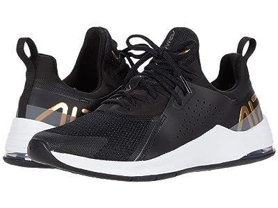 Nike Air Max Bella TR 3 (Black/Metallic Gold/Flat Pewter White) Women