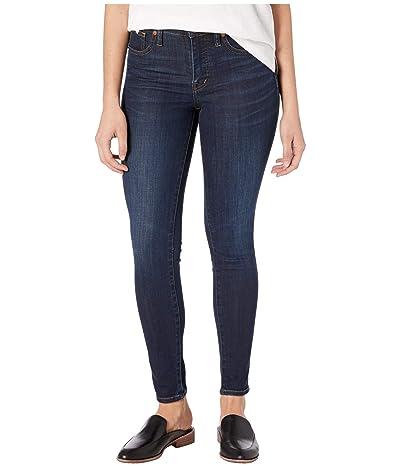 Madewell 9 Mid-Rise Skinny Jeans in Larkspur Wash: TENCELtm Denim Edition (Larkspur) Women