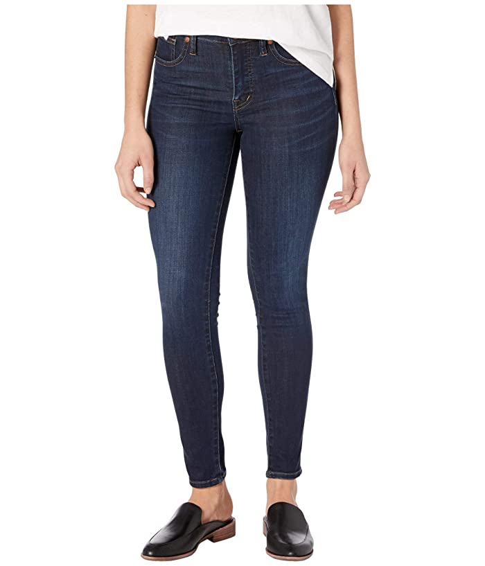 Madewell  9 Mid-Rise Skinny Jeans in Larkspur Wash: TENCELtm Denim Edition (Larkspur) Womens Shorts