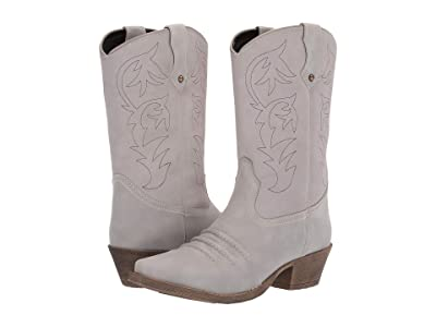 Dingo Prairie Rose (Grey) Cowboy Boots