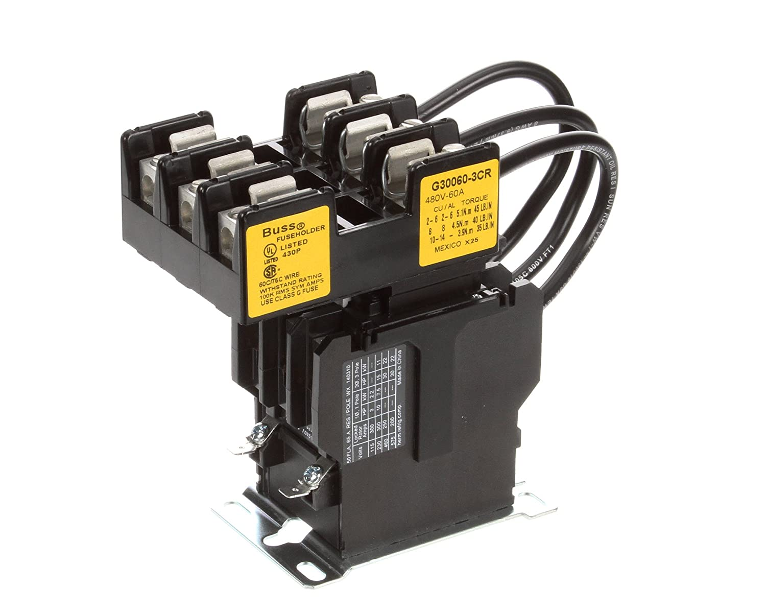 Stero Dishwasher P47-1824 Fusible 50A 220V Super sale period limited Max 58% OFF 3Pl Contactor