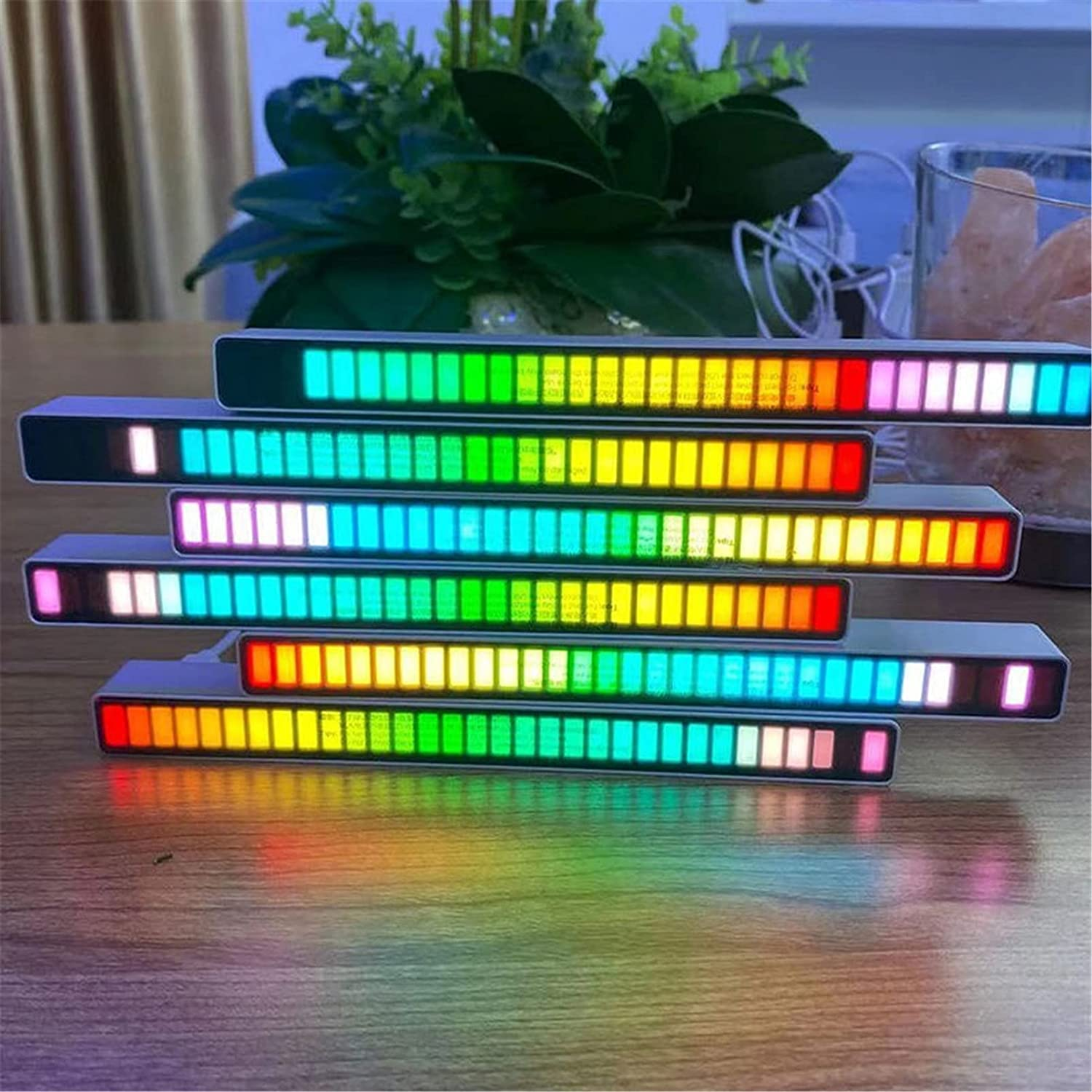 Smart Sound Spring new work one after another Control Flow Voice-Activated Bar Pickup Industry No. 1 Light Rhythm