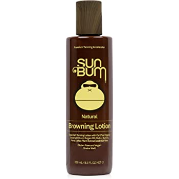 Sun Bum Browning Lotion | Vegan and Reef Friendly (Octinoxate & Oxybenzone Free) Sun Tanning Cream with Aloe Vera | 8.5 oz