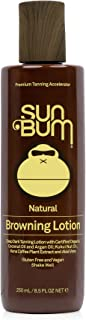 Sun Bum Browning Lotion | Vegan and Reef Friendly (Octinoxate & Oxybenzone Free) Sun..