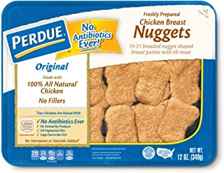 Perdue, Breaded Chicken Breast Nuggets, Fully Cooked, Fresh Tray Pack, 12 oz