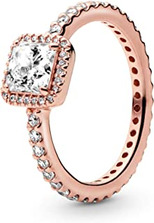 Best rose gold promise rings cheap Reviews