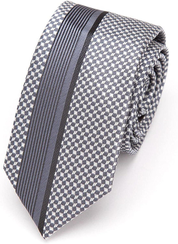 Mens Ties Luxurious Slim Necktie Stripe Tie Men Business Wedding Jacquard Male Dress Shirt Fashion Bowtie Gift Gravata