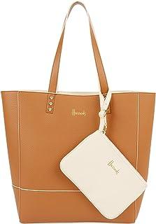 Harrods Fern Reversible Neutral Tote Bag - Cross-Body Handbags