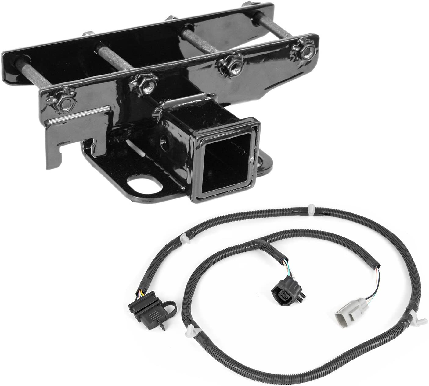 Max 42% OFF Outland 391158051 Receiver Hitch Kit JK for with Wiring Max 51% OFF Harness