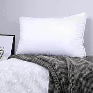 Spring Air 03621 Medium Support 300 Thread Count Cotton Dobby Wont Go Flat Pillow King//20 x 36 White King//20 x 36 Pacific Coast Feather