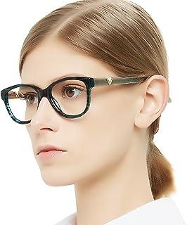 e5fc3d43bd OCCI CHIARI Women Eyewear Frames Fashion Optical Acetate Eyeglasses with Clear  Lenses