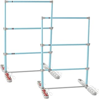 Franklin Sports Ladder Ball Set - Set Includes 2 Ladder Ball Targets and 6 Bolas - Family Set for Beach Or Backyard Fun - ...