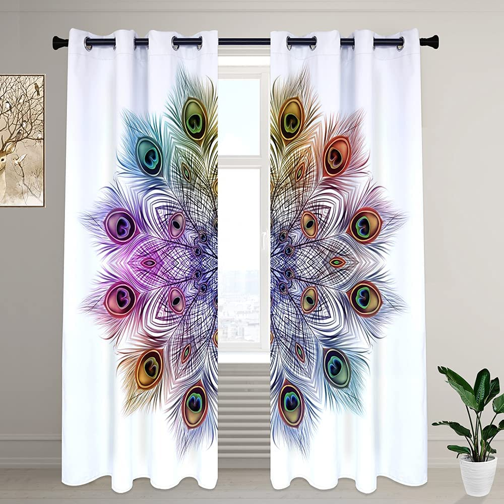 LilyCat Decorative 4 years warranty Blackout Room Bedroom Surprise price and Darkening Curtains