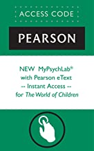 NEW  MyPsychLab® with Pearson eText -- Instant Access -- for The World of Children