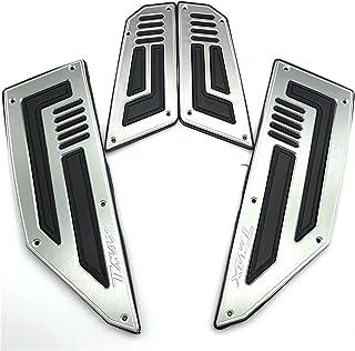 CXEPI CNC Alluminio Pedane Poggiapiedi Pedali Moto per Yamaha TMAX 530 TMAX 500