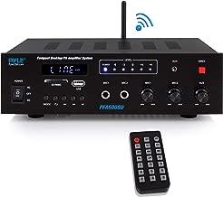 Wireless Bluetooth Karaoke Amplifier  Home Car Bus Tours 300 Watts 2 Channel Digital Home..