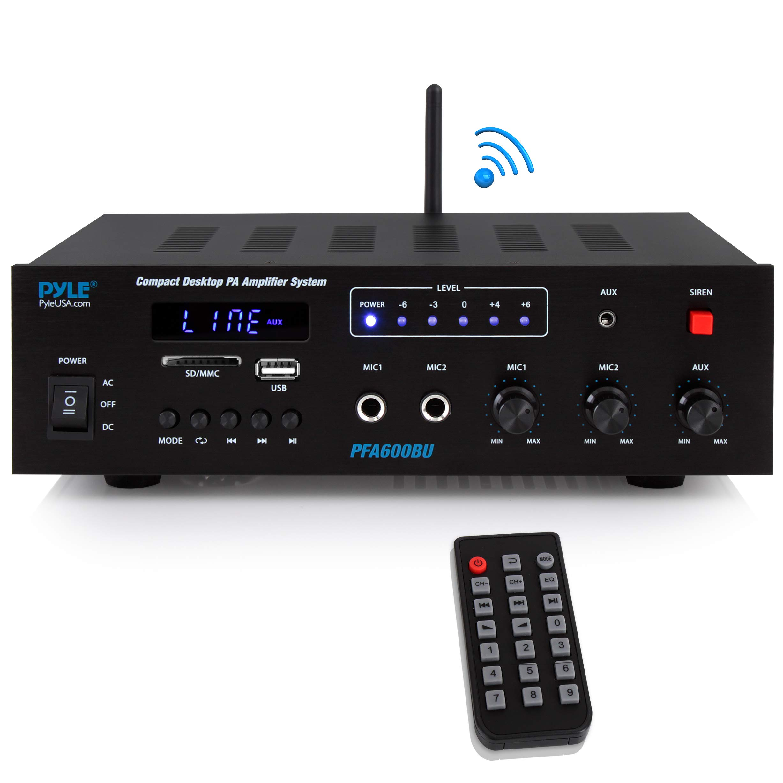 Wireless Bluetooth Karaoke Amplifier Microphone