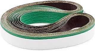 1 X 42 Inch 40 Grit Metal Grinding Ceramic Sanding Belts, Extra Long Life, 12 Pack
