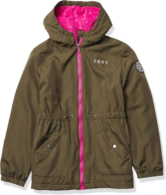 DKNY Girls' Med Weight Jacket