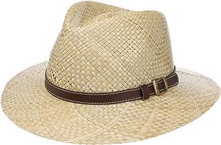 Lipodo Cappello di Paglia Carsell Traveller Uomo - Made in Italy da Sole Primavera/Estate