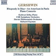Gershwin: Rhapsody In Blue / Piano Concerto