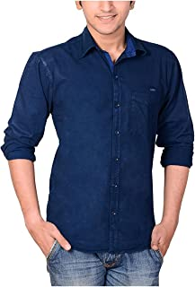 High Hill Men's Cotton Shirt