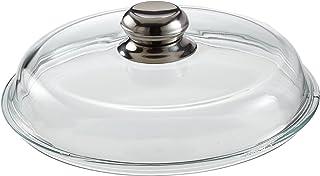 Schulte-Ufer 1945-20 - Tapa de Cristal para ollas con pomo de Acero Inoxidable