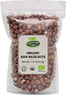 Organic Raw Hazelnuts 1lb by Hatton Hill Organic