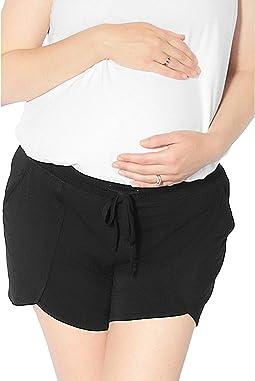 Bamboo Maternity & Postpartum Lounge Shorts