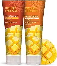 product image for Desert Essence Island Mango Shampoo & Conditioner Bundle - 8 Fl Ounce - Enriching - Shea Butter - Jojoba Oil - Smooth & Silky - Soft & Healthy