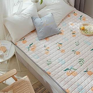 YUMUO Portátil Sleeping Pad, Algodón Plegable Futón Primeros del Colchón Ligero No Era-Slip Tatami Estera De Meditación para Solo Colchón Doble-b Completo
