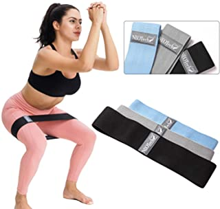 NeoTech Care Exercise Bands Set - Pack of 3 Belts, 3 Sizes, 3 Levels of Resistance