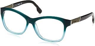 ead4ddc38 New Diesel Women's Eyeglasses DL5085 098 54-14-140 Dark Green/Azure 54mm