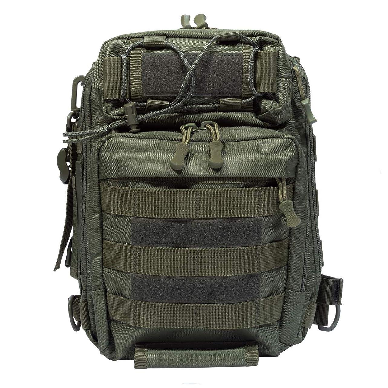 解放する役立つ破滅的なNKTM 多機能 釣り袋 3WAY 釣りバッグ 大容量 1000D防水 タックルバッグ 釣り用 ヒップバッグ 肩掛け可能 アウトドア 登山 旅行用