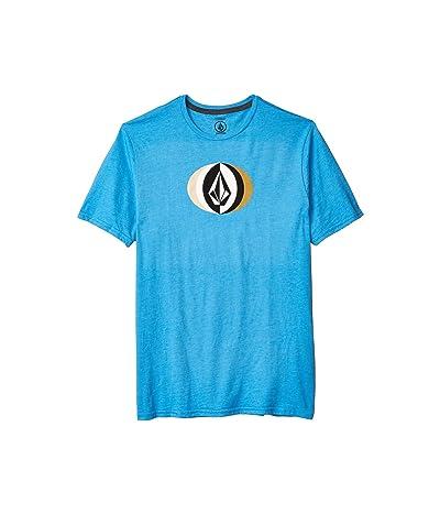 Volcom Layer Round Short Sleeve Tee (True Blue) Men