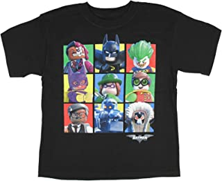 LEGO The Batman Movie Character Boxes Boys Shirt 4-16