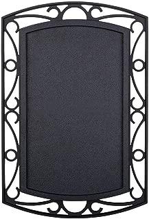 Designer Series Black finished Wireless / Wired doorbell kit