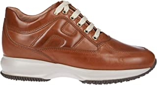 HOGAN Luxury Fashion Womens HXW00N00010LEHS003 Brown Sneakers | Fall Winter 19