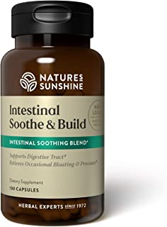 Nature`s Sunshine Intestinal Soothe and Build 100 Capsules