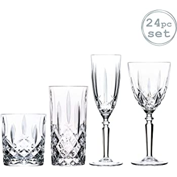 6 Speymore Cut Crystal Whisky Glasses New Low Price