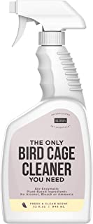 Natural Rapport Bird Cage Cleaner - The Only Bird Cage Cleaner You Need, Bird Poop Spray Remover, Naturally Removes Bird Waste (32 fl oz.)
