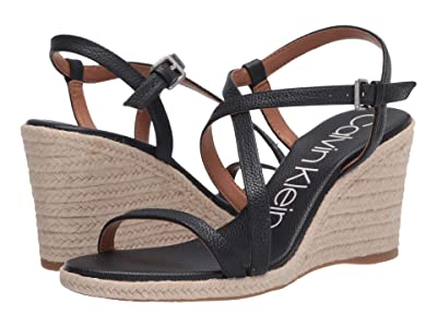 Calvin Klein Bellemine Espadrille Wedge (Deep Navy) Women